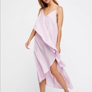 Free People Looks Like Layers Midi Dress Sz XS